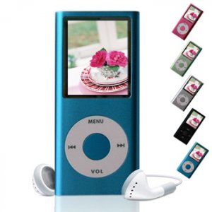 MP-169NS FLASH MP3 PLAYER (Ipod Nano second generation) MP4  2GB