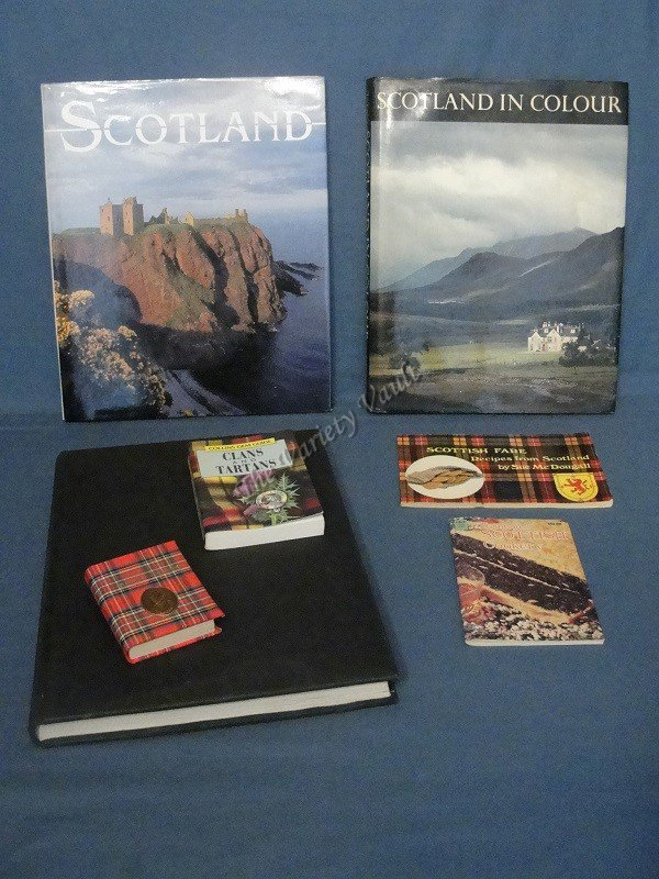 Scotland Scottish Book Lot