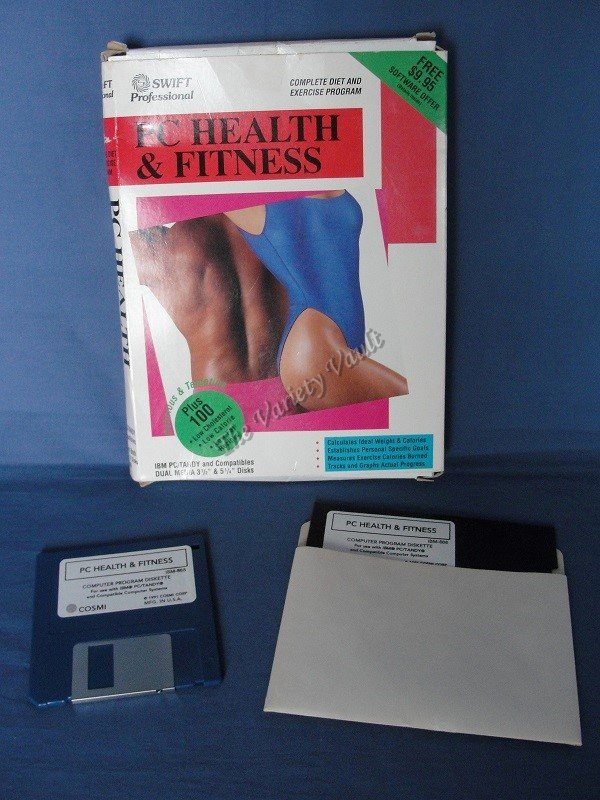 PC Health & Fitness Software VINTAGE