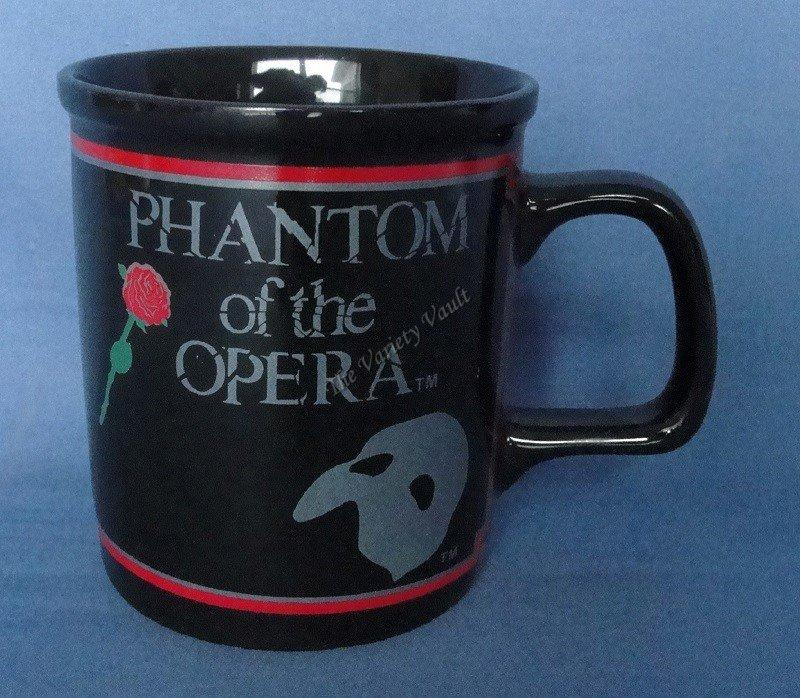 Phantom of the Opera Coffee Cup Mug 1988 Vintage