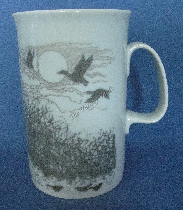 Geese Ducks Birds Mug Cup Coffee Chocolate Scotland Dunoon Fine Porcelain