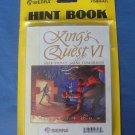 King's Quest VI Hint Book Sierra Heir Today Gone Tomorrow Vintage New Open Package