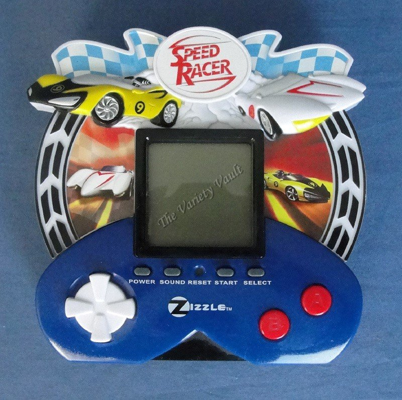 Speed Race Electronic Portable Handheld LCD Game
