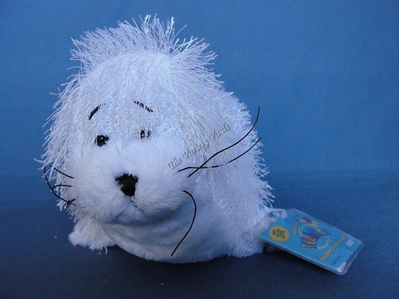 White Seal Sea Lion Webkinz New