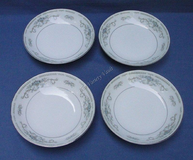 Diane Berry Bowls Set of 4 Wade Fine Porcelain China of Japan