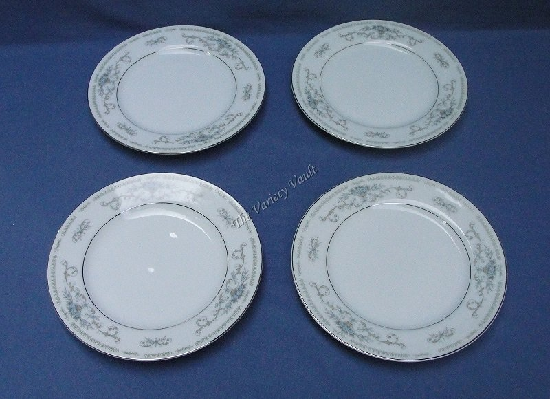 Diane Wade China of Japan Fine Porcelain  Bread and Butter Plates Set of 4