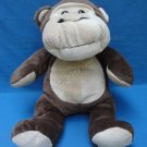 Brown Monkey Plush Stuffed Animal Cute Cuddly