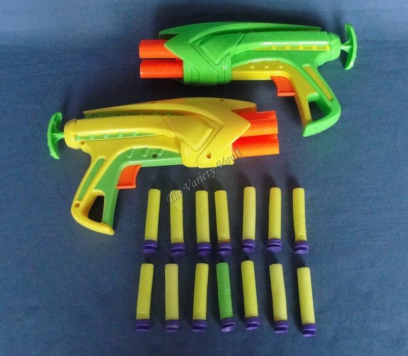 Buzz Bee Toys Air Blaster Foam Dart Guns 2004