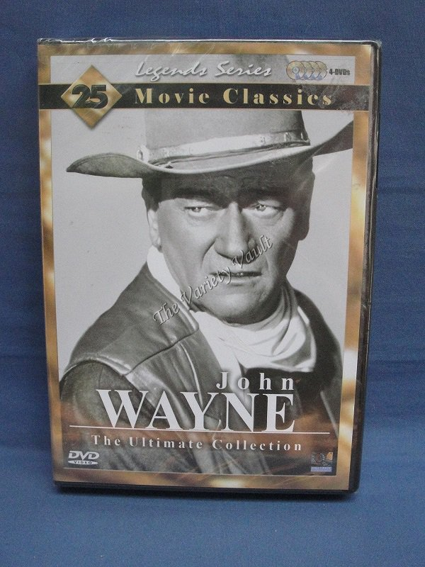 John Wayne The Ultimate Collection  Legends Series 25 Movie Classics  4 Disc Set