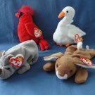 Ty Beanie Babies Mac Gracie Spike Ears Retired