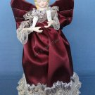 Christmas Red Angel Tree Topper