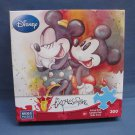 A ROSE FOR MINNIE Disney Expressions Jigsaw  Puzzle 300 Mega Pieces NEW