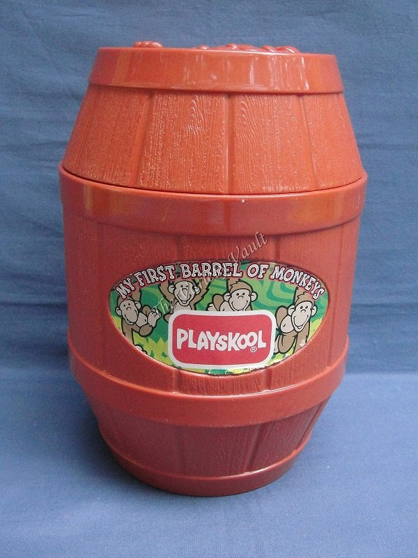MY FIRST BARREL OF MONKEYS Playskool 1998 RARE