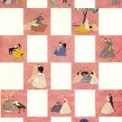 Little Women Applique quilt pattern -LHJ 1950