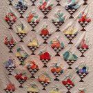 McKim 1930's newspaper Fruit Basket quilt pattern applique & patchwork