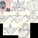 Crinoline Lady Southern Belle LITTLE WOMEN costume embroidery transfer New Era 2