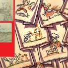 Animated Dishes,Mammy,Chef & Maid embroidery transfer pattern V195