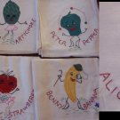 Alice Apple & More Anthro Fruit embroidery transfer pattern mo1700