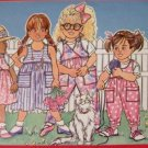 Butterick 3789 pattern Toddlers / Childrens Overalls & Top,Jumper,Dress sz4,5,6