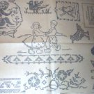 1930's Cross Stitch Cherub,Children + transfer ORG (9)