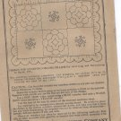1920's quilted pillow transfer embroidery ORG butterick 200
