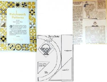 Vintage Patchwork Patterns No 3 McKim Quilts 1930's