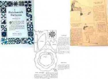 Vintage Patchwork Patterns No 2 McKim Quilts 1930's