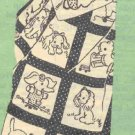 Baby Pets Quilt transfer embroidery pattern mo778