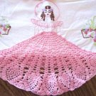 Southern Belle transfer crochet & embroidery pattern mo551