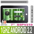 7 inch capacitive screen Android 2.2 Tablet PC