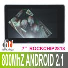 7 inch capacitive screen Android 2.1 Tablet PC
