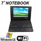 Mini 7inch Laptop LCD Windows CE 6.0 VIA VT8505 300MHz 2GB HD WIFI Netbook