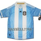 NEW 11-12 ARGENTINA HOME BLANK SOCCER SHIRT JERSEY