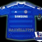 NEW 11-12 CHELSEA HOME BLANK PREMIER PATCH SOCCER SHIRT JERSEY