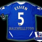 NEW 11-12 CHELSEA HOME ESSIEN 5 PREMIER PATCH SOCCER SHIRT JERSEY
