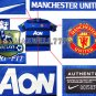 NEW 11-12 MANCHESTER UNITED AWAY BERBATOV 9 CHAMP PREMIER PATCH SOCCER SHIRT JERSEY