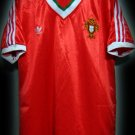 RETRO 1986 PORTUGAL HOME WORLD CUP RARE SOCCER SHIRT JERSEY # L