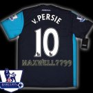 NEW 11-12 ARSENAL 3RD v.PERSIE 10 PREMIER PATCH SOCCER SHIRT JERSEY
