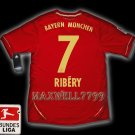 NEW 11-12 BAYERN MUNICH HOME RIBERY 7 BUNDES LIGA PATCH SOCCER SHIRT JERSEY