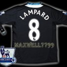NEW 11-12 CHELSEA AWAY LAMPARD 8 PREMIER PATCH SOCCER SHIRT JERSEY