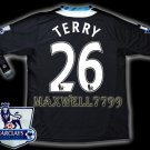 NEW 11-12 CHELSEA AWAY TERRY 26 PREMIER PATCH SOCCER SHIRT JERSEY