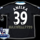 NEW 11-12 CHELSEA AWAY ANELKA 39 PREMIER PATCH SOCCER SHIRT JERSEY