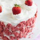 Strawberry White Cake BS2