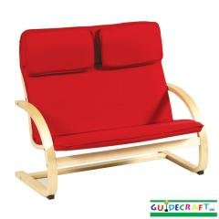 Childs Rocker Couch - Red