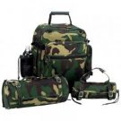 3pc Camouflage Motorcycle Bag Set