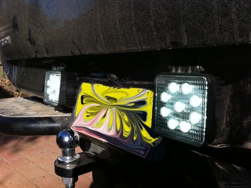 9~32V 27W Square LED work light for boat/27w LED work light