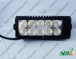7.5 inch 30W LED work light bar offroad 2300LM Truck/Driving light bar