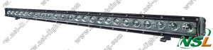 Super Tough Single  Off Road 120W LED Light Bar (NSL-12024A-120W)