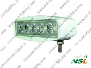 Hot sale mini 5.5'' 15W LED light bar for track/forklift/fire engine/ambulance
