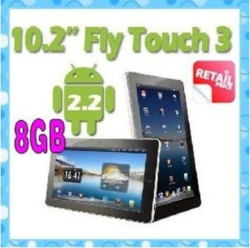 "10.2"" Android 2.2 GPS 512mb RAM 8GB x220 HDMI support 3G GPS tablet pc"